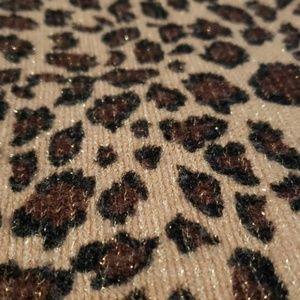 Cejon Accessories - Sparkly Leopard Scarf